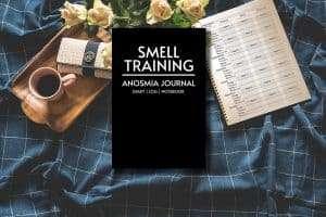 smell training journal Mocuk up Image