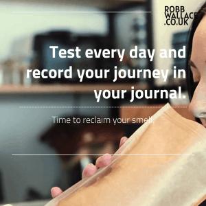 smell training journal 5