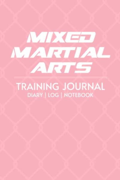 mixed martial arts-training-journal-pink