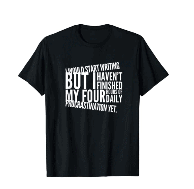 Funny Author T shirt 2