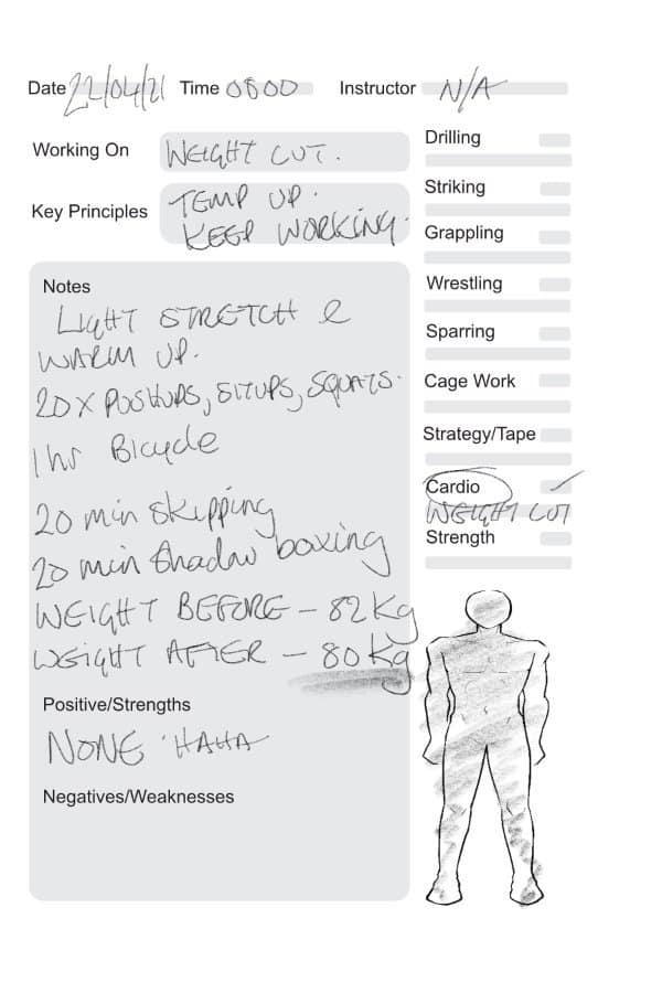 mixed-martial-arts-training-journal