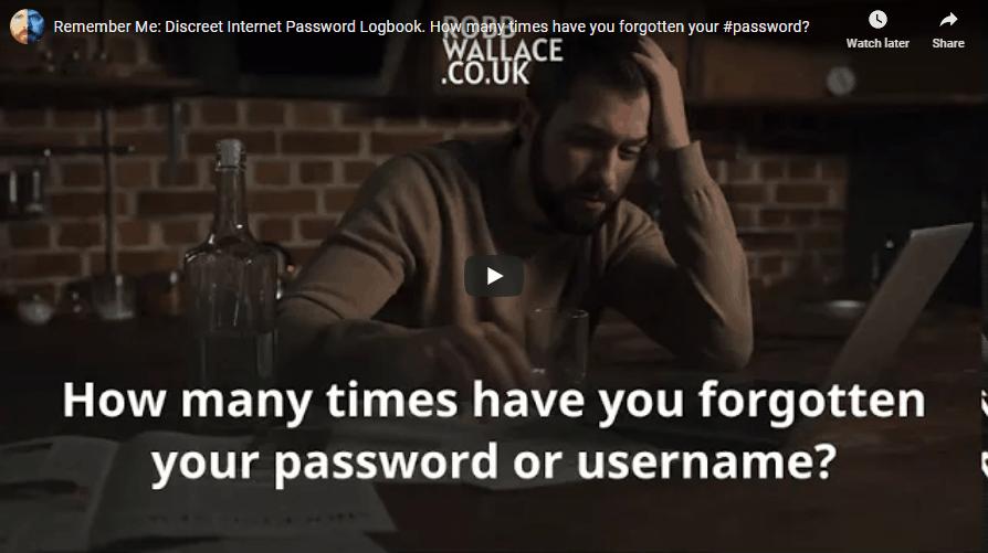 Password-notebook