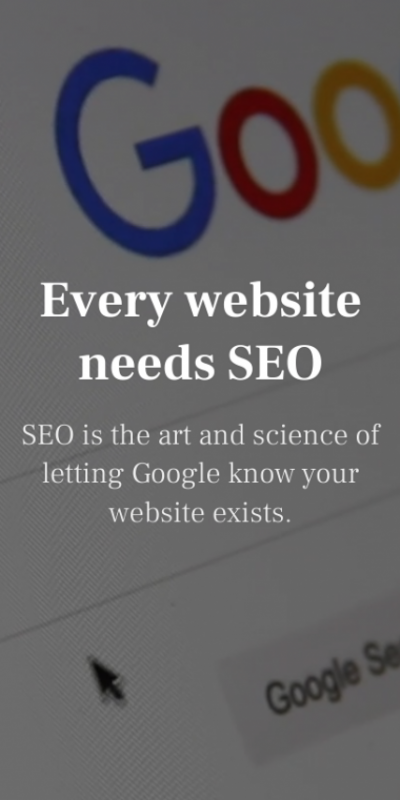 Why Every Business Needs Search Engine Optimisation